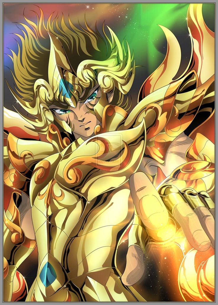 Leo aioria Saint seiya soul of gold God cloth