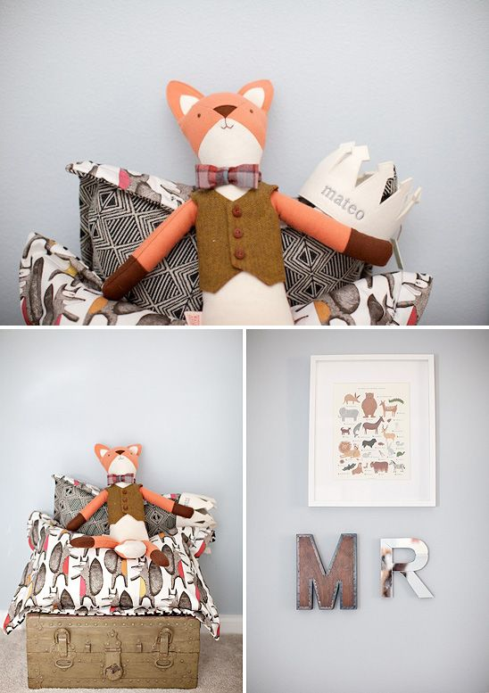Baby Mateo and His Nursery Inspired by The Little Prince