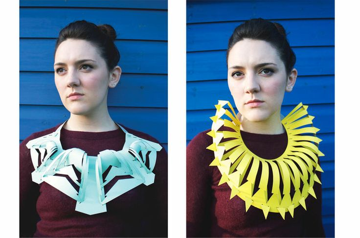 Georgina Howling - — BA (Hons) Fashion Jewellery 2013 - A3 Necklaces