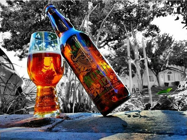 Beautiful IPA glass & Stone RuinTen #IPA from @ det311 on instagram. #craftbeer