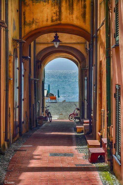 Sea Passage, Varigotti, Liguria, Italy