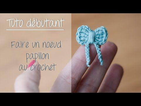 Noeud papillon au crochet pour débutant / Crochet easy bow tie