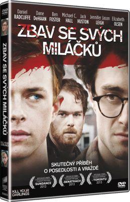 Film Zbav se svých miláčků na DVD / Kill Your Darlings dvd.