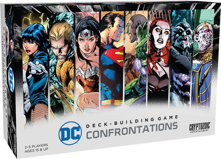 DC Deck-Building Game: Confrontations, Cryptozoic Entertainment, 2017
