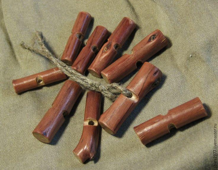 Изготавливаем экопуговицы из вишнёвых веточек - Ярмарка Мастеров - ручная работа, handmade
