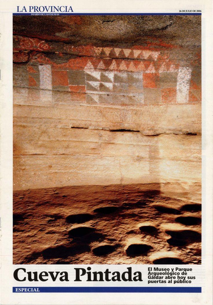Cueva pintada : el Museo y Parque Arqueológico de Gáldar abre hoy sus puertas al público.