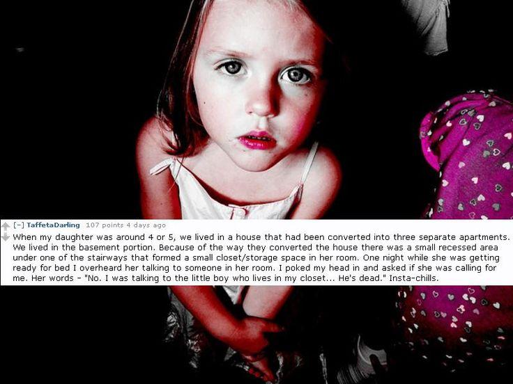 creepy things kids say | Top 9 Creepy Things Kids Have Said To Their Parents