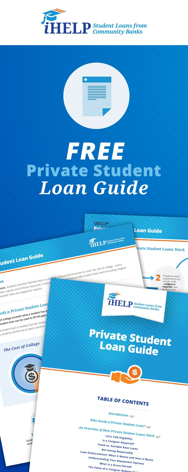 Everything you've wondered about private student loans - and it's free! Click to get your Private Student Loan Guide.