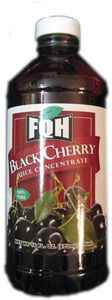 FQH Black Cherry Juice Concentrates, 16 fl oz. - Whole And Natural