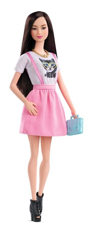 thedollcafe:Upcoming 2015 Fashionista Barbie