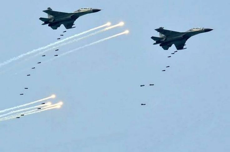 Sukhoi TNI Angkatan Udara. (Kaskus Militer)