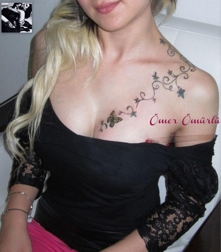 female chest tattoos | Breast tattoo - a photo on Flickriver