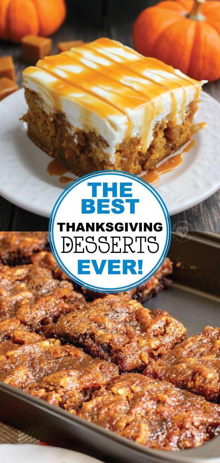 Thanksgiving Dessert Concepts
