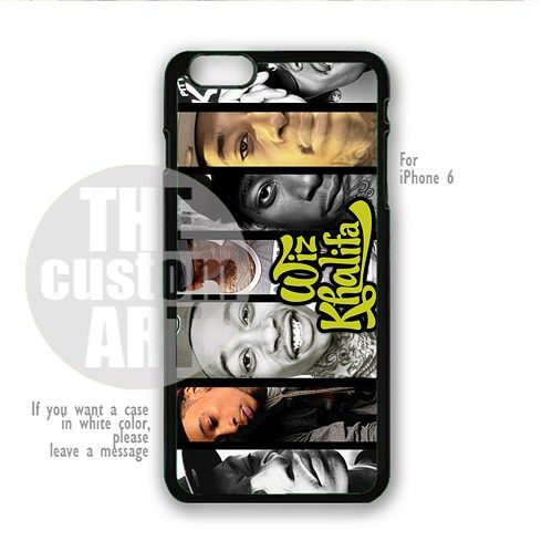 Wiz Khalifa Black And White - For iPhone 6 - NOTE for iPhone 6 Plus