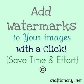 How to add watermarks