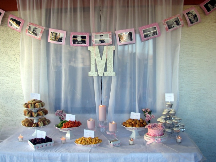 Cute little girl's 1st birthday party tablescape!