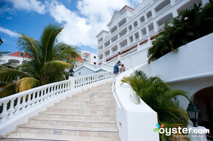 Stairs at the Grand Bahia Principe Jamaica- I must have a photo on this staircase in my Wedding Dress!
