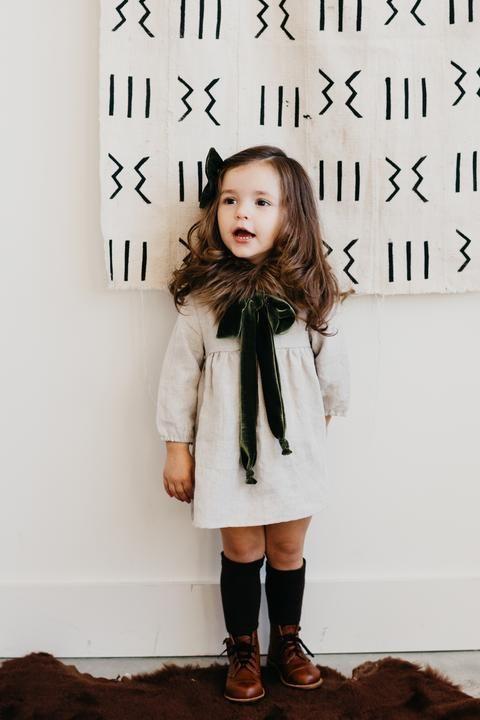 the Mini Dress in Linen