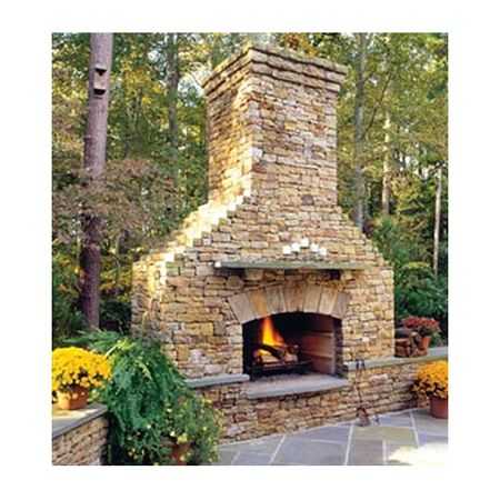 Elite Outdoor Custom Classique Fireplace #LearnShopEnjoy