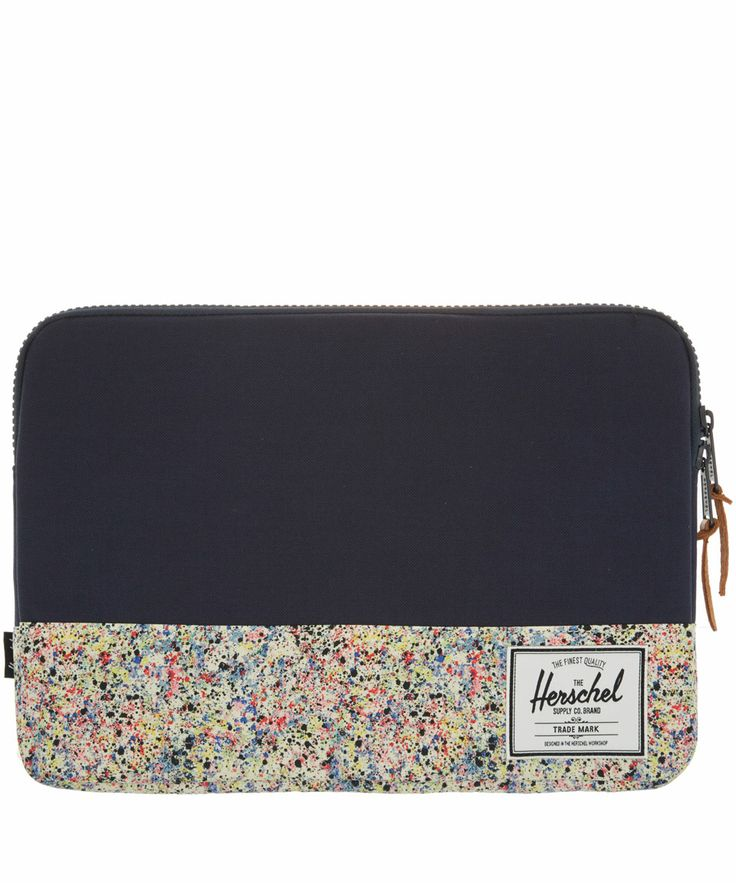 Herschel Navy Seymour Liberty Print Laptop Sleeve | Accessories by Herschel | Liberty.co.uk