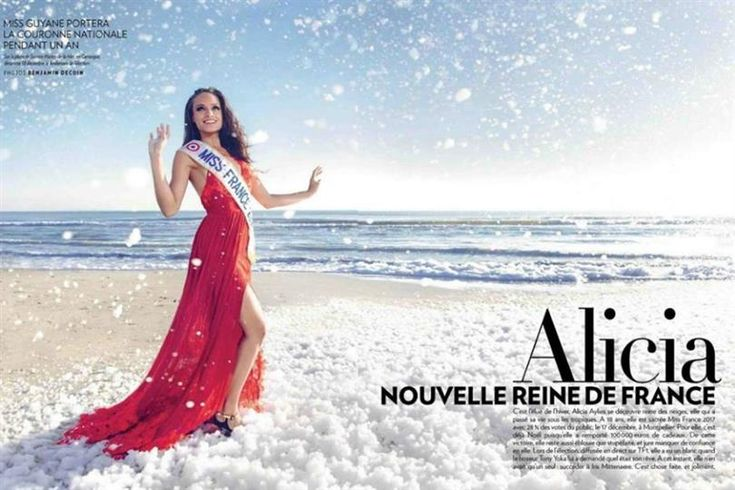 Photoshopped pictures of Miss France 2017 Alicia Ayliès create another controversy