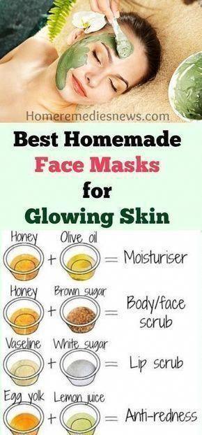 Beste hausgemachte / DIY Gesichtsmaske für Akne-Narben Anti-Aging glühende Haut und weich   – Birthday!