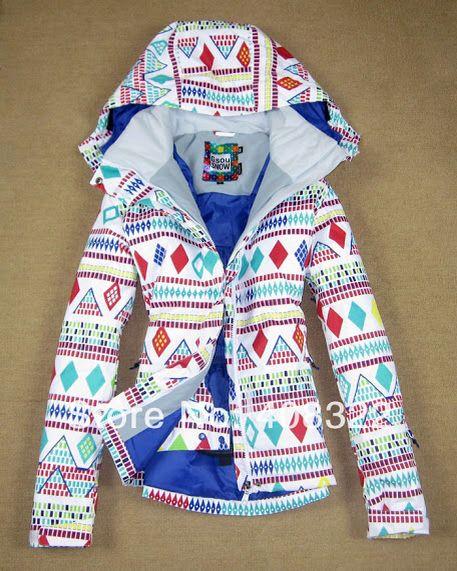 Cute snowboarding jacket