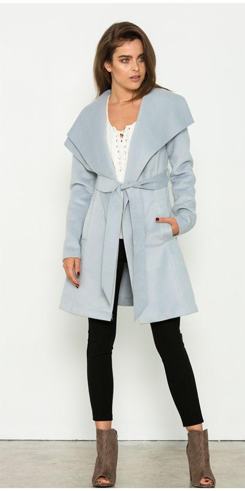 Fresh Soul - Winchester Coat - Blue