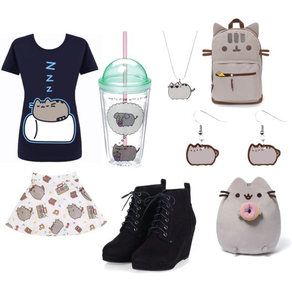 A fashion look from February 2016 featuring Pusheen skirts, Pusheen backpacks and Pusheen earrings. Browse and shop related looks.