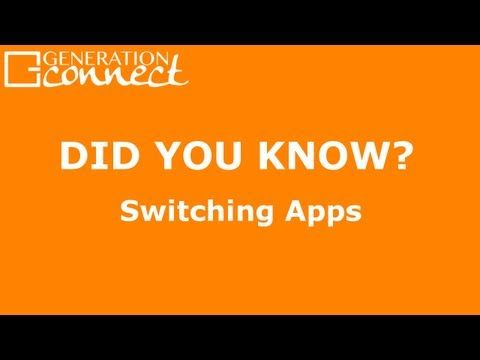 """Switching Apps - Did You Know?  Continuing our website launch """"Did You Know?"""" series, do you know all 3 ways to switch apps without going back to the home screen? Since this tip saves you time, use that extra time to visit www.gen-connect.com for more tips and 25 free iPad training videos in our Learning Library!"""