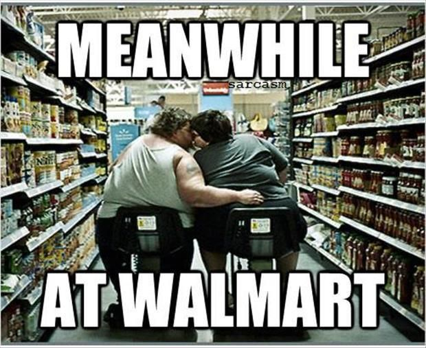a sad day for me at walmart Walmart will scan for unhappy shoppers using facial recognition (cue the apocalypse) john brandon @jmbrandonbb august 9, 2017 2:10 pm above: superstore, valentine's day, episode 214.