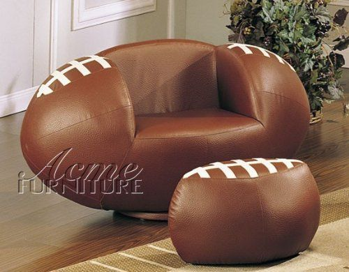 Furniture for a Football Bedroom Theme...love this for Gavin's room