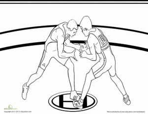 Ancient Greek Olympics Coloring Pages | Second Grade ...