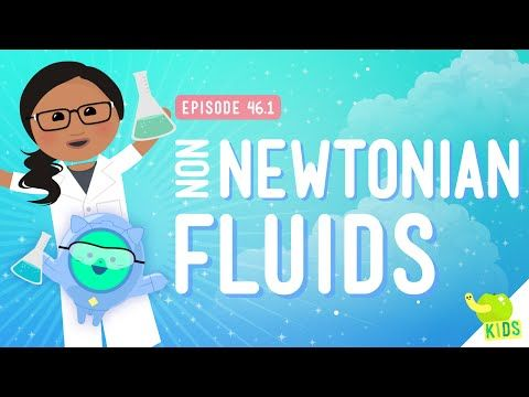 Oobleck and Non-Newtonian Fluids: Crash Course Kids #46.1 - YouTube