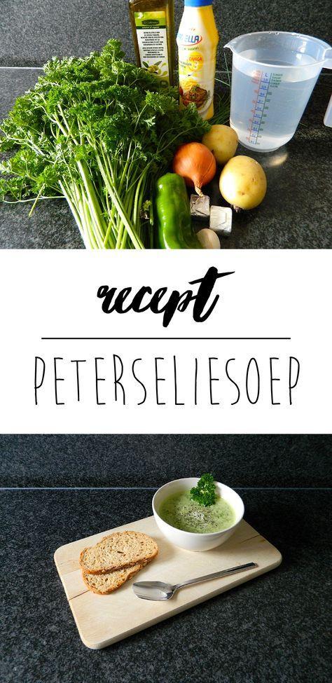 Lekkere preisoep met groentjes van eigen kweek!