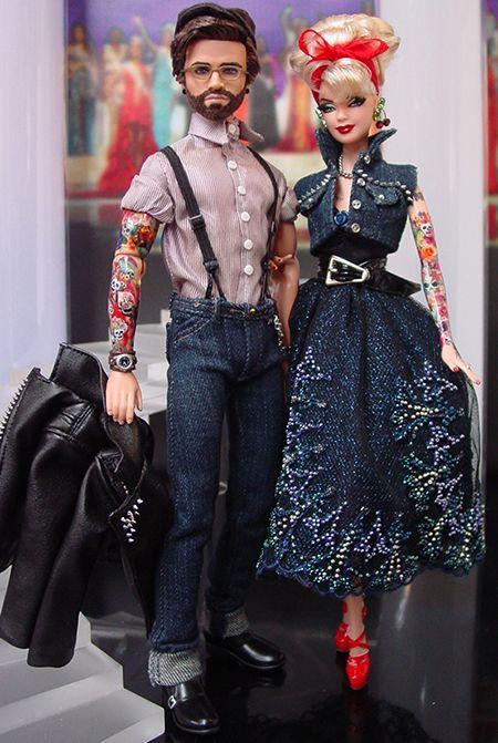 Rockabilly Barbie & Ken / ninimomo / 24..37