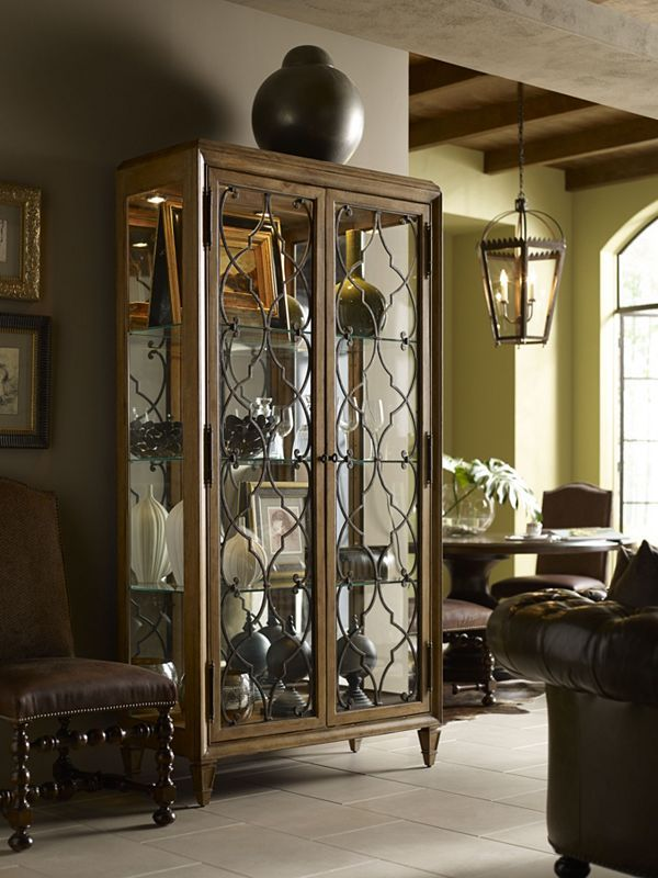 Attractive Curio Cabinet   Thomasville Furniture #ErnestHemingway