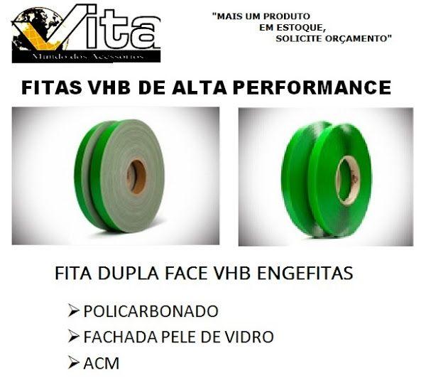 VITA COMPONENTES PARA ESQUADRIAS DE ALUMÍNIO: FITAS VHB -- PRODUTO EM ESTOQUE -- PARA FACHADA/PO...