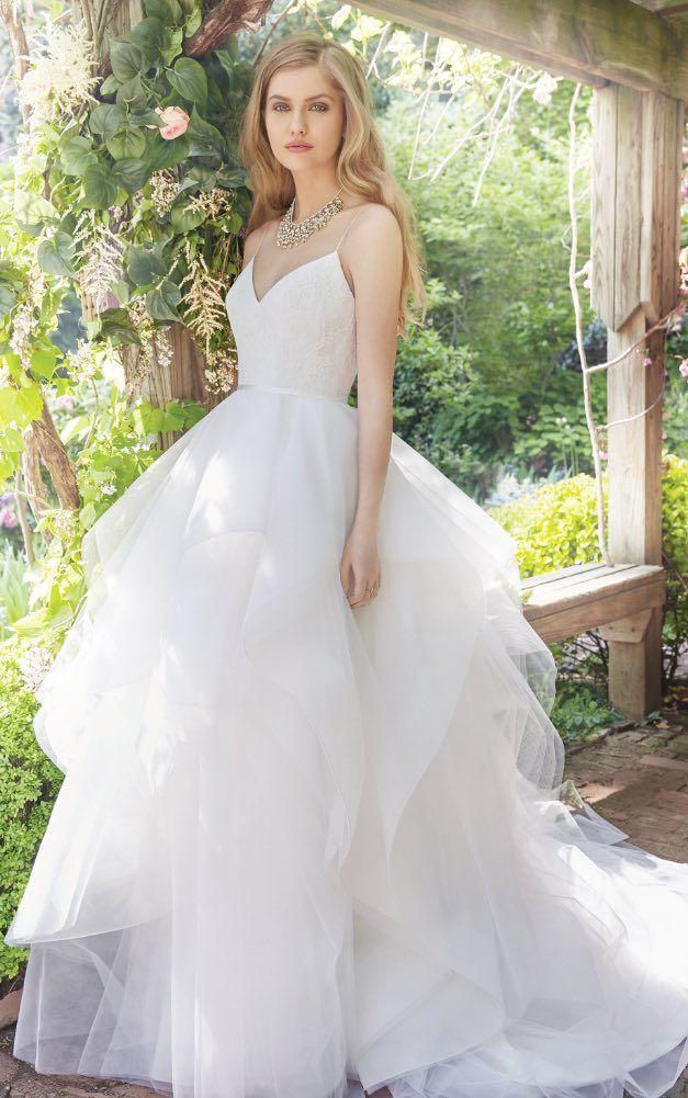 Courtesy of Alvina Valenta Wedding Dresses from JLM Couture; Wedding dress idea.