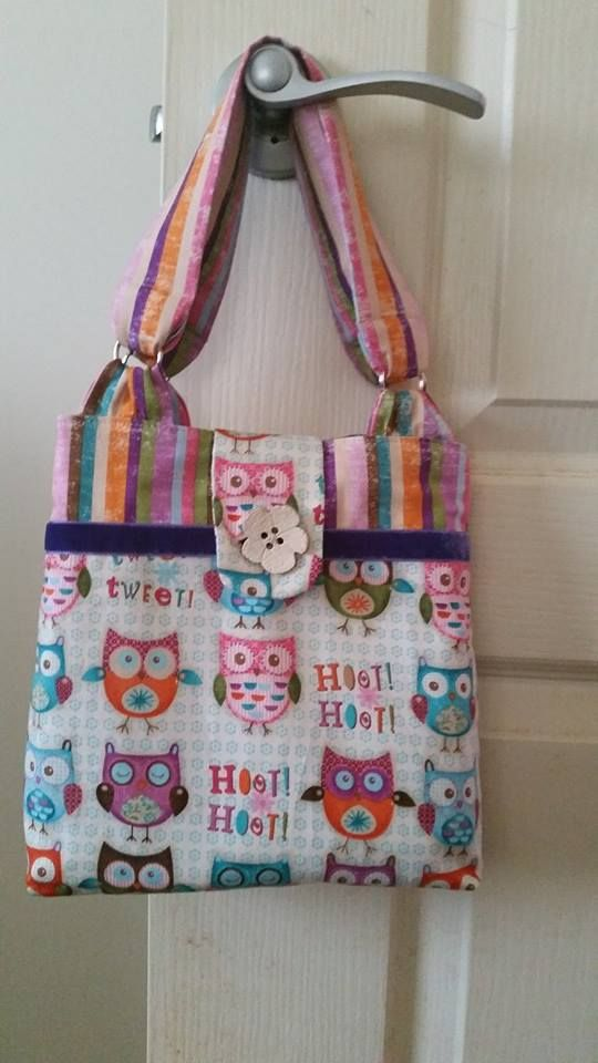 Little Owl tote  Custom order Email: mbmaccessories1@gmail.com Facebook: https://www.facebook.com/mbmaccessories1