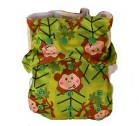 Baby BeeHinds Multi-fit in Monkey Fun