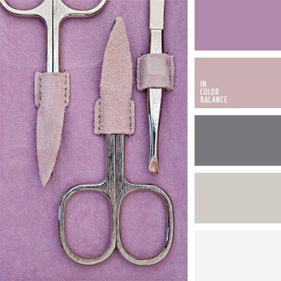 color gris, color lila, de color púrpura, elección del color, gris suave, lila suave, matices de colores pastel, paleta de colores para decorar una boda, paleta de colores para una boda, tonos fríos, tonos violetas.