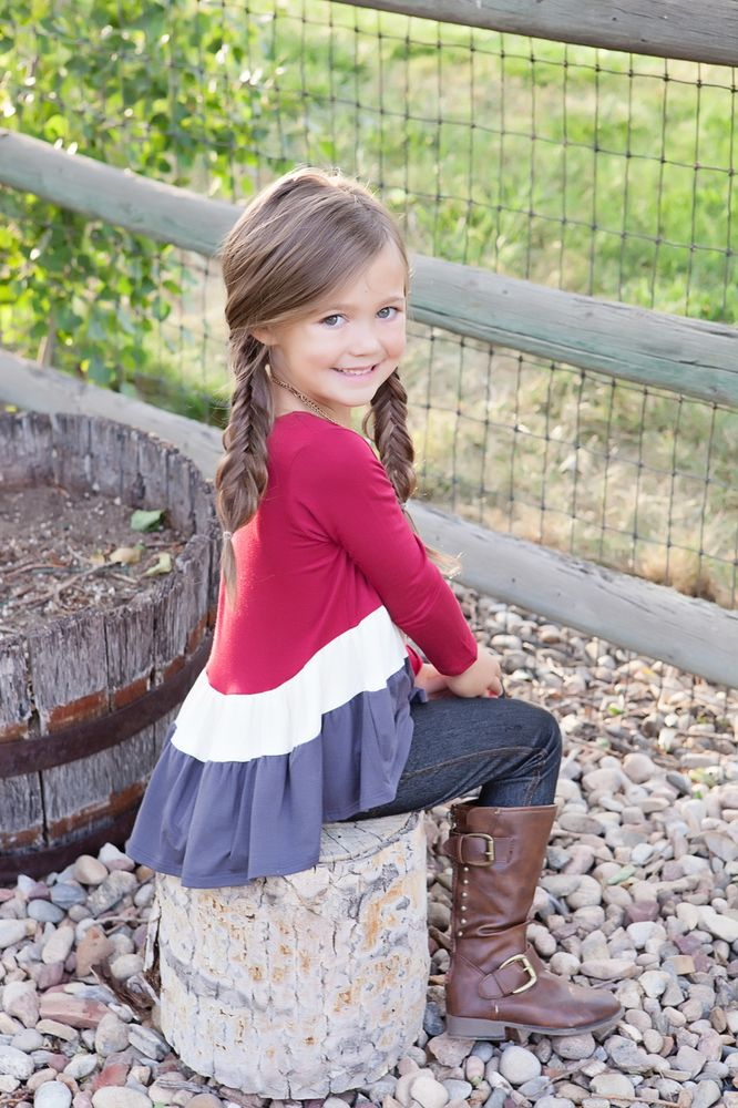 Pin By Ryleigh Rue Clothing On Girls Boutique Clothing Pinterest Tunics Ruffles And Girls