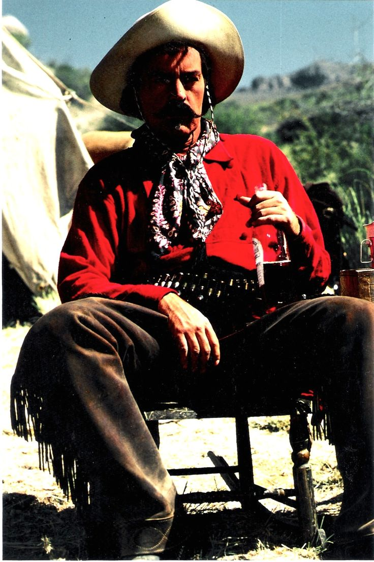 Tombstone.  Powers Boothe as Curly Bill.  He was wonderful to work with! #josephporrodesigns