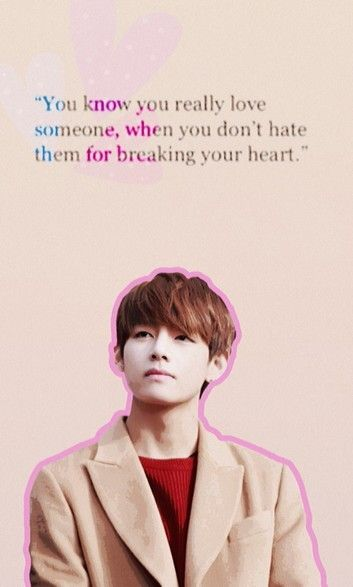 Inspirational Kpop Quotes: #V #Taehyung #BTS #wallpaper #quotes ♡♡