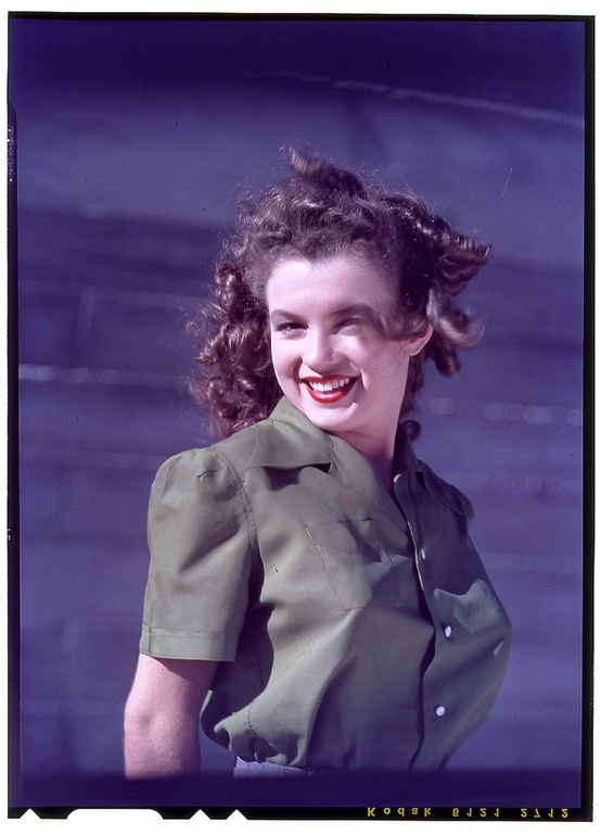 Norma Jeane was first spotted by photographer David ...