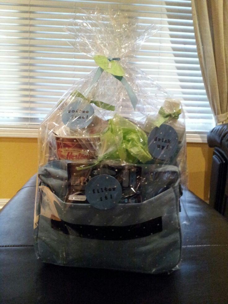 Bicycle gift basket