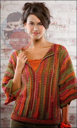 Camille Top - This is a free #crochet pattern.