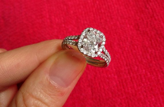 1 carat cushion cut engagement ring  eBay