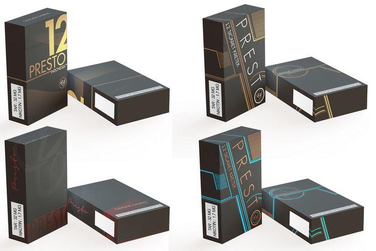 Download Cigarette Package Mockup by madcom13 | Box mockup, Mockup ...